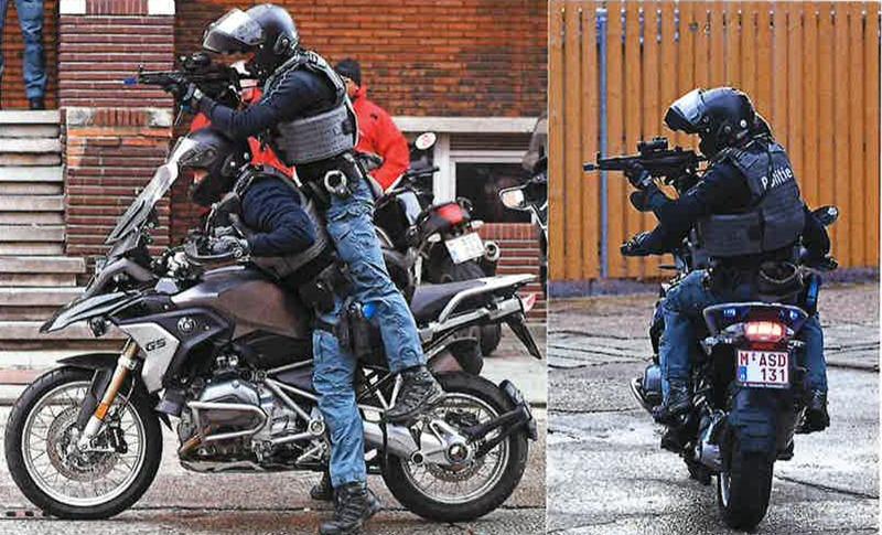 SRT op motorfiets