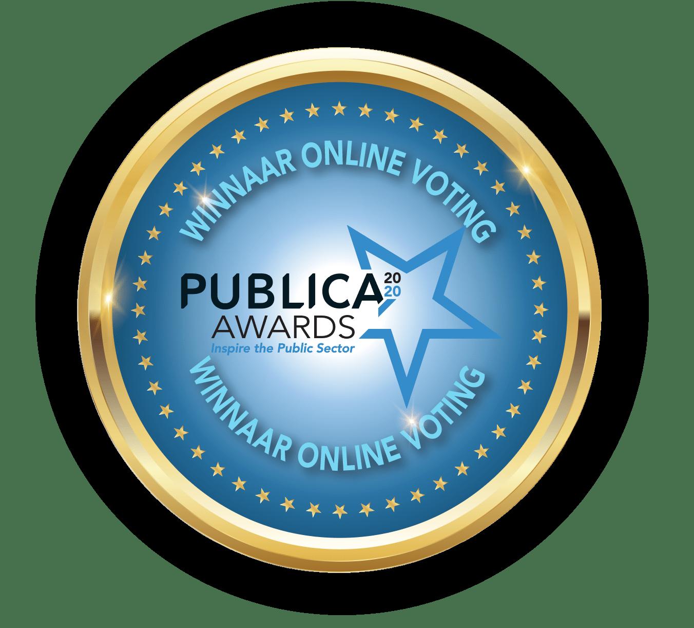 PUBLICA-Médaille-Winnaar